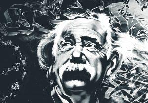 Einstein a cavallo di una scopa relativistica