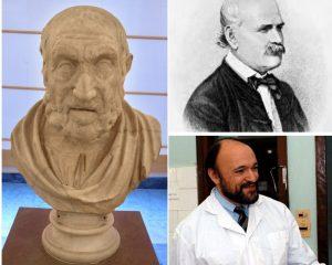 Tre nomi influenti nella storia della medicina