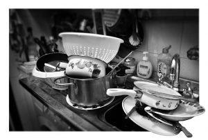 La seccatura dei piatti
